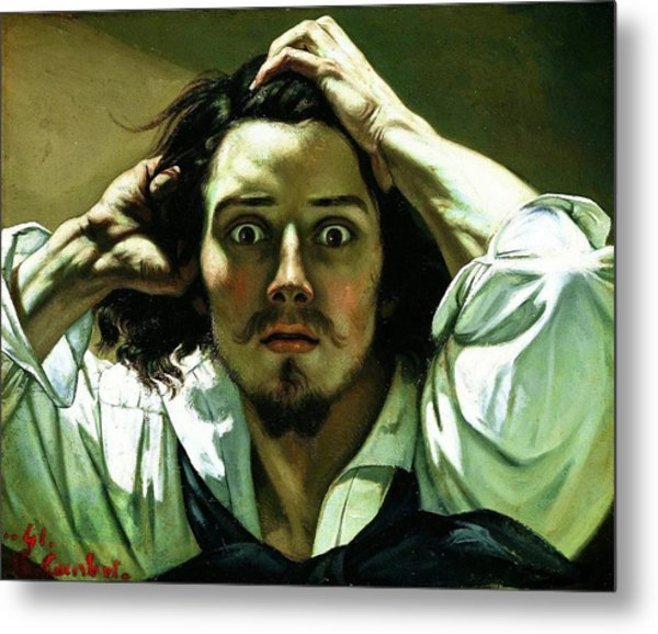 The Desperate Man Metal Print