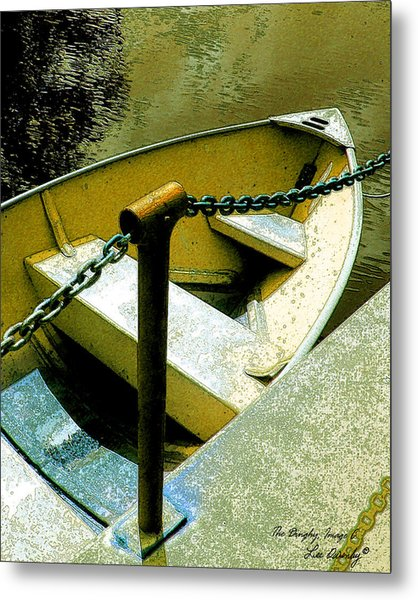The Dinghy Image C Metal Print