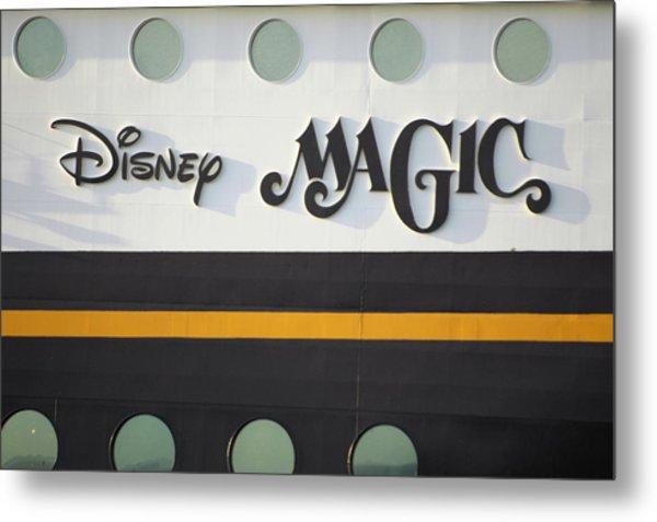 The Disney Magic Portholes Metal Print
