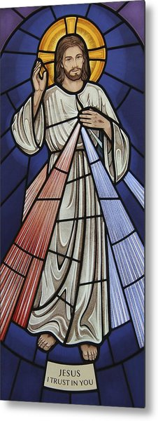 The Divine Mercy Metal Print
