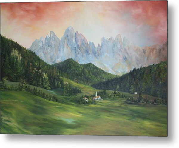 The Dolomites Italy Metal Print