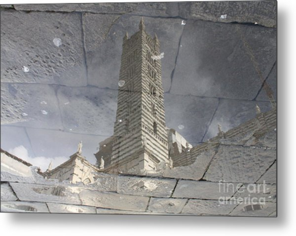 The Dome In The Pool Metal Print by Marco Affini