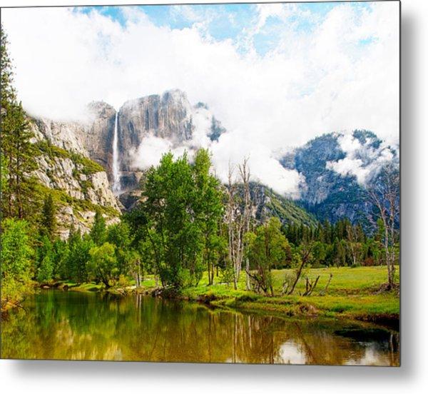 The Door To Heaven Above Yosemite National Park Metal Print