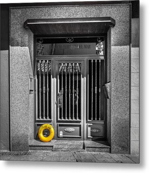 The Doorway. Metal Print