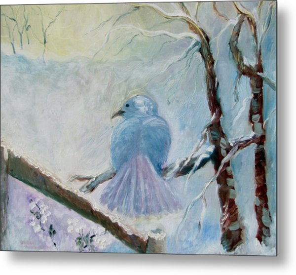 The Dove Metal Print by Susan Hanlon