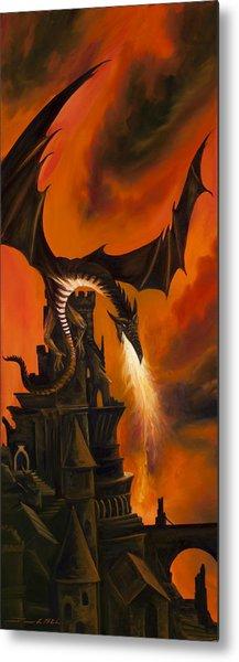 The Dragon's Tower Metal Print