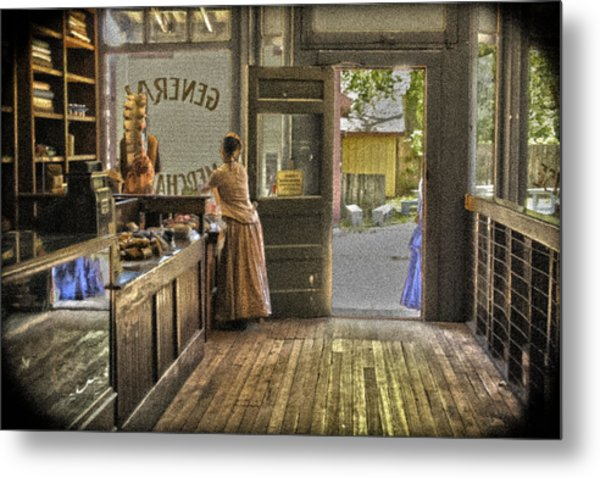 The Dry Goods Store Metal Print