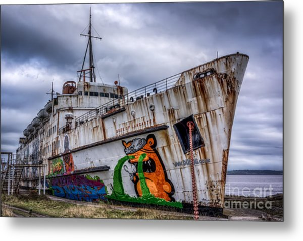 Metal Print featuring the photograph The Duke Of Lancaster by Adrian Evans