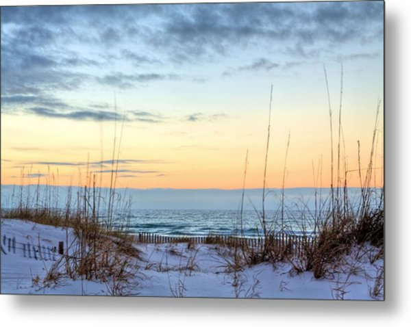The Dunes Of Pc Beach Metal Print