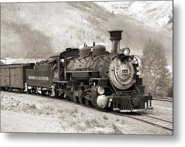 The Durango And Silverton Metal Print