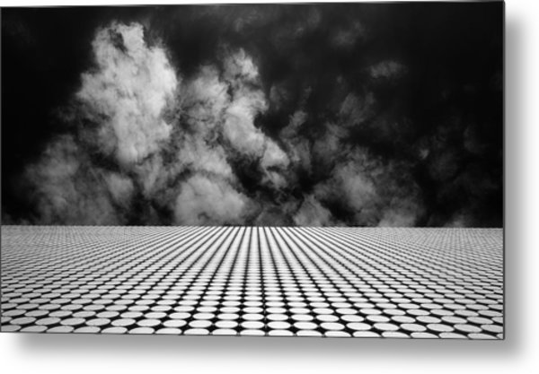 The Edge Metal Print