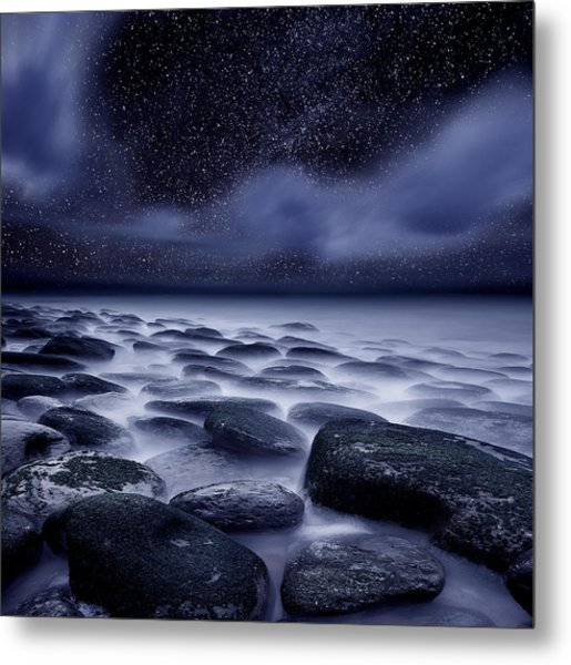The Edge Of Forever Metal Print