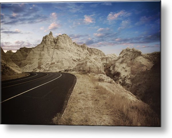 The Edge Of The Badlands Metal Print by Jens Larsen