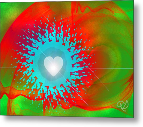 The Emergence Of Love Metal Print