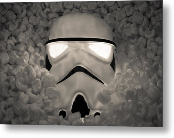 The Empire Pays Peanuts Metal Print by Randy Turnbow