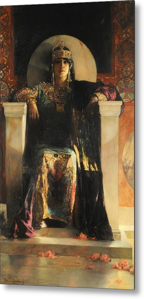 The Empress Theodora Metal Print