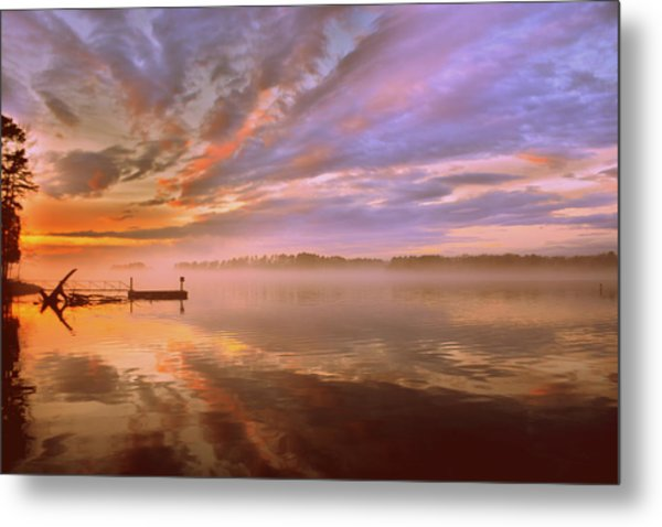 Metal Print featuring the photograph The End by Lisa Wooten