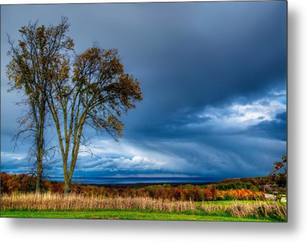 The End Of A Rainy Day Metal Print