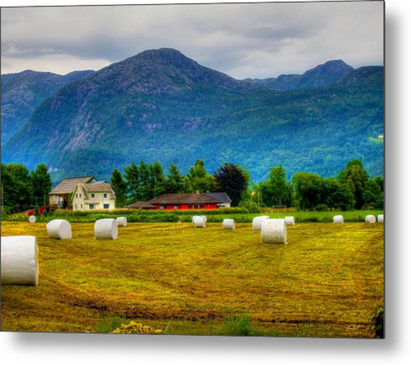 The End Of The Harvest Metal Print