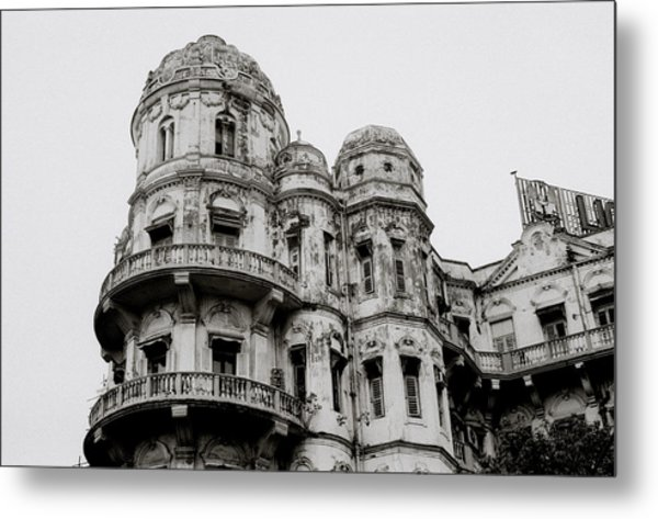 The Esplanade Mansions Metal Print