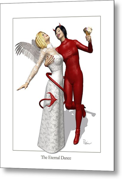 The Eternal Dance Metal Print