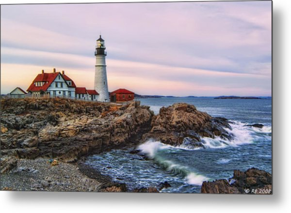 The Evening Lo How Bright Metal Print