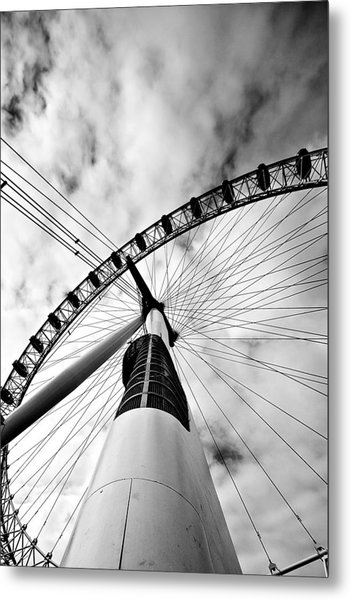 The Eye Metal Print