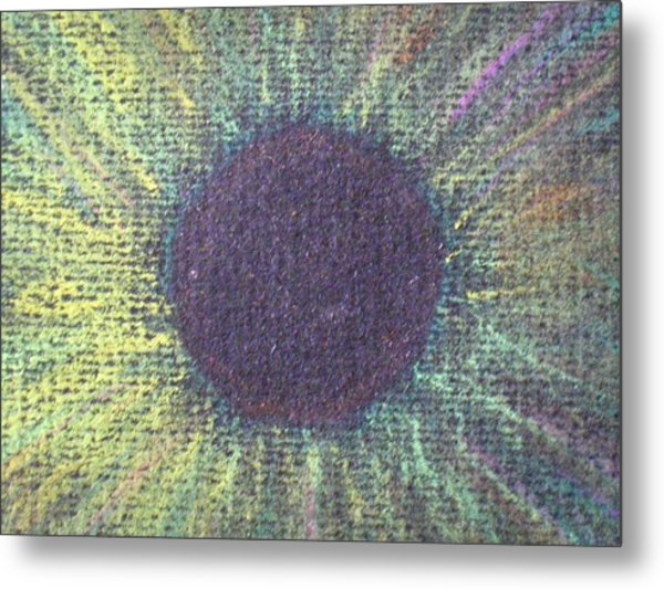 The Eye Of The One Detail Metal Print