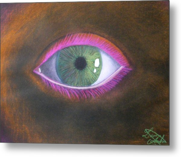 The Eye Of The One Metal Print