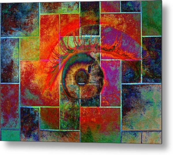 The Eye Metal Print