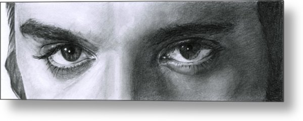 The Eyes Of The King Metal Print