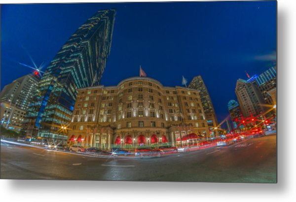 The Fairmont Copley Hotel Metal Print