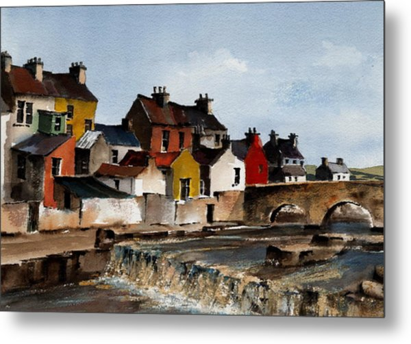 The Falls At Ennistymom Clare Metal Print