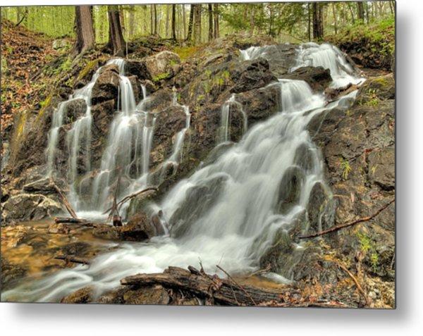 The Falls At Mackenzie King Estate Metal Print