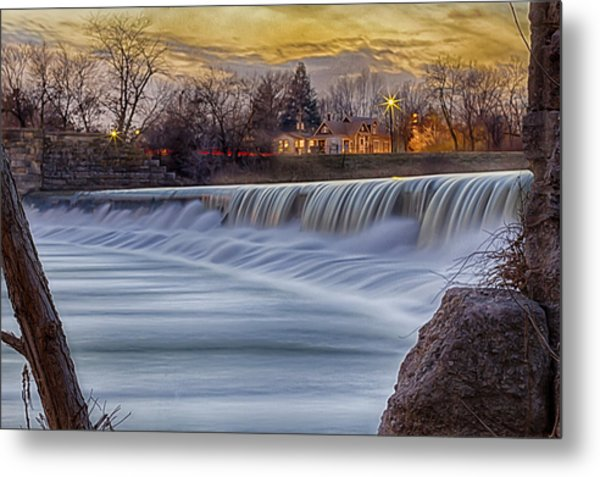 The Falls Of White River Metal Print