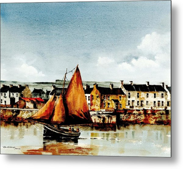 The Famaire Hooker  Off Aran Metal Print