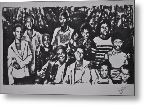 The Family Metal Print