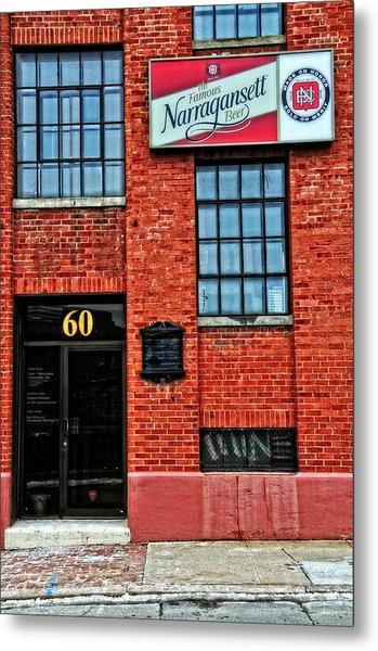 The Famous Narragansett Beer Metal Print