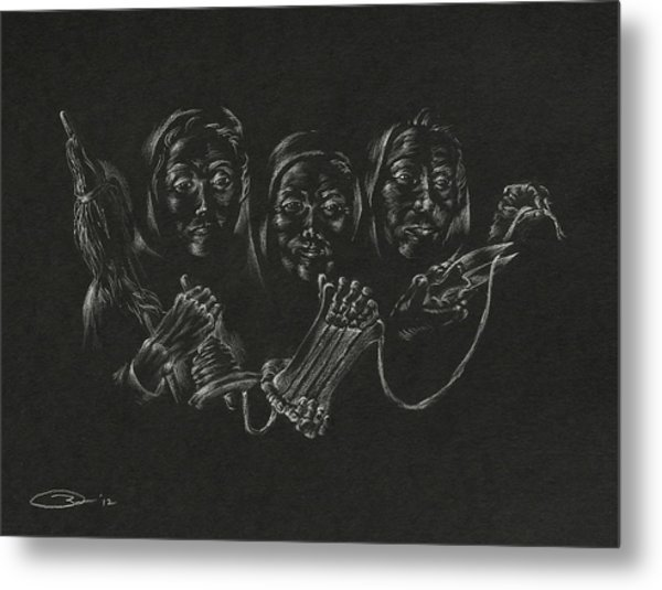 The Fates Metal Print