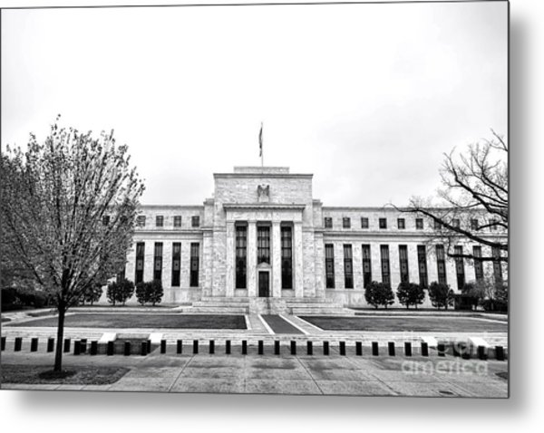 The Federal Reserve  Metal Print