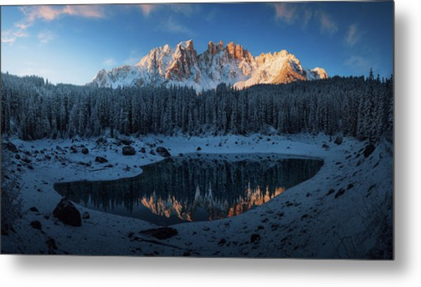 The First Morning 3. Metal Print