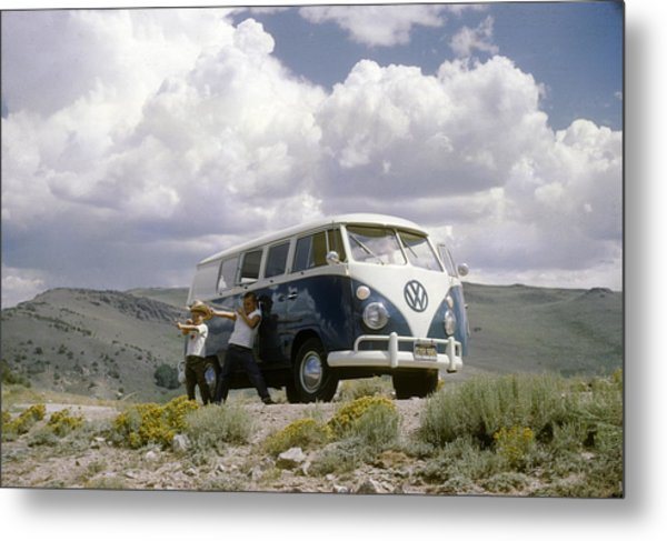 Metal Print featuring the photograph The First Of Many Volkswagens  by David Bailey