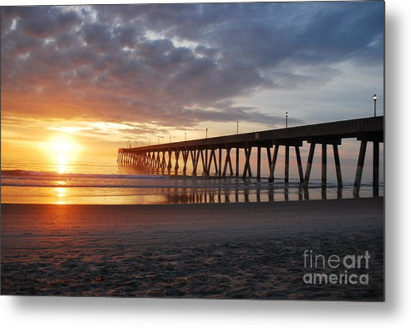 The First Sunrise Metal Print