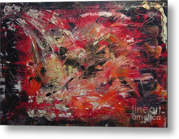 The Flameous Painting Metal Print