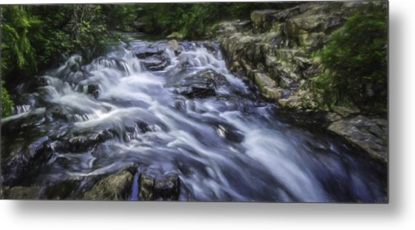 The Flow Metal Print by Barb Hauxwell
