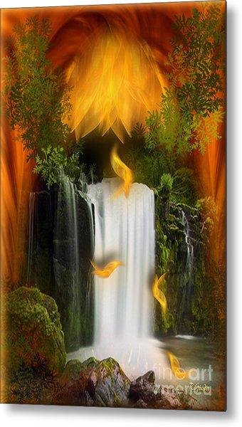 The Flower Of Joy - Fantasy Art By Giada Rossi Metal Print