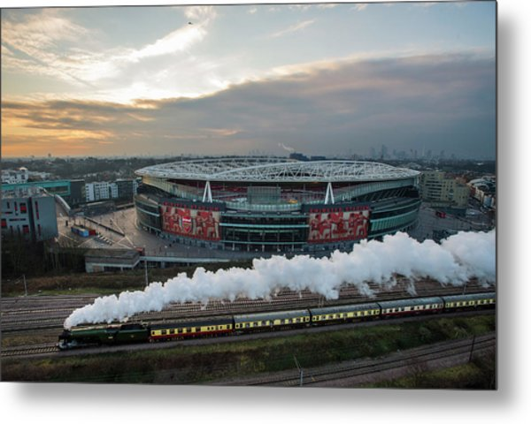 The Flying Scotsman Travels The East Metal Print by Justin Setterfield