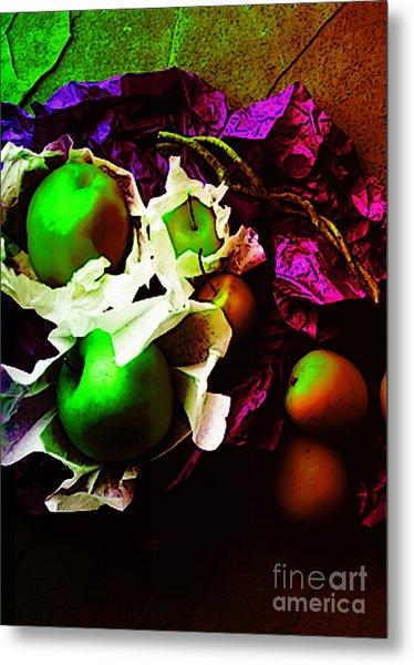 The Forbidden Fruit II Metal Print