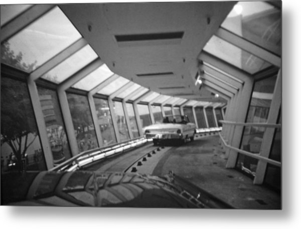 the Ford Rotunda Highway Metal Print