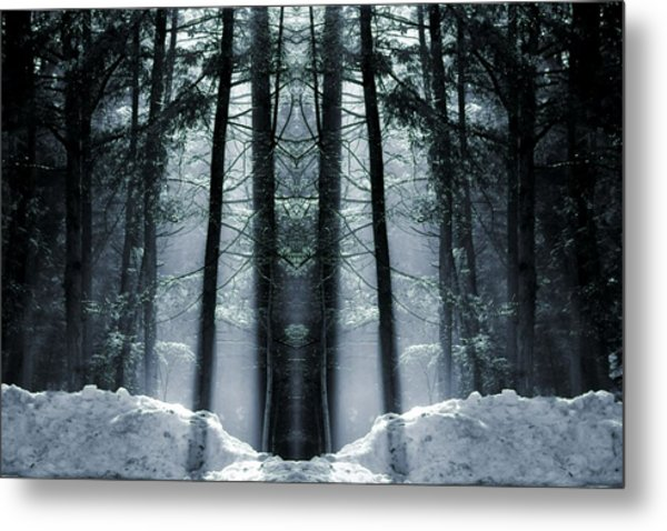 The Forest Is Alive Metal Print